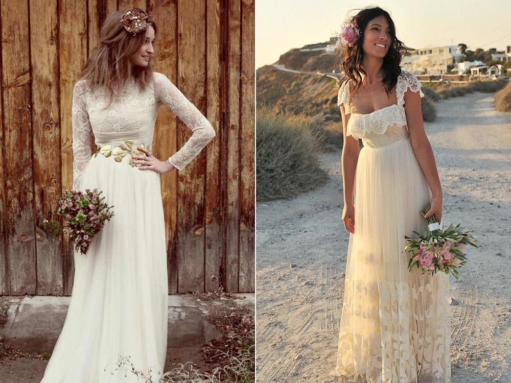 Лёгкое свадебное платье